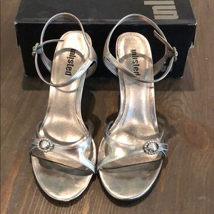 Unlisted Silver Heels Size 9